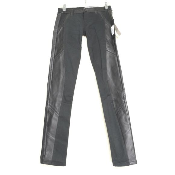 SOLD Design Lab Denim - SOLD Design Lab 25 x 30 USA legging NWT leather